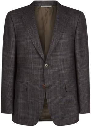 Canali Check Jacket
