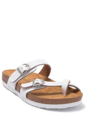 Eastland Tiogo Leather Slide Sandal