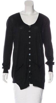 Inhabit Button-Up Knit Cardigan $80 thestylecure.com