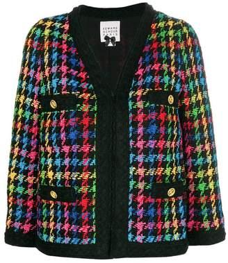 Edward Achour Paris slim fit tweed jacket