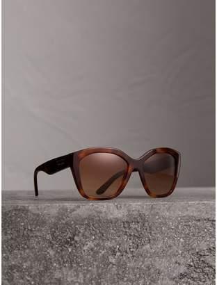 Burberry Square Frame Sunglasses, Brown
