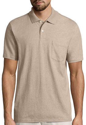 ST. JOHN'S BAY Short-Sleeve Pocket Polo Shirt