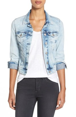 Women's Mavi Jeans 'Samantha' Denim Jacket $118 thestylecure.com