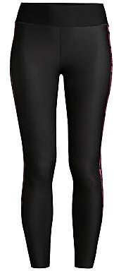 ULTRACOR Women's Ultra-High Swarovski Crystal & Python Racing Stripe Leggings