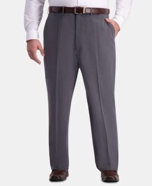Haggar Jm Men's Big & Tall Classic-Fit 4-Way Stretch Flat-Front Dress Pants