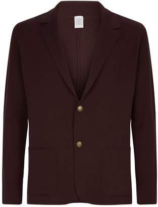 Eleventy Wool Knit Cardigan