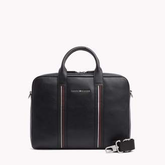 Tommy Hilfiger Leather Inlay Laptop Bag