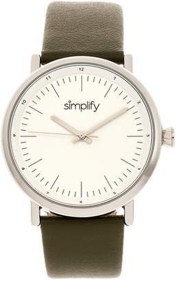 Simplify Unisex The 6200 Watch