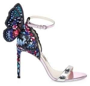 Sophia Webster Chiara Embroidered Sandals
