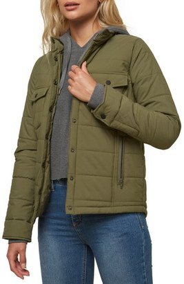 O'Neill Mikey Water Resistant Quilted Nylon Jacket