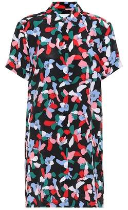 Equipment Mirelle printed silk dress