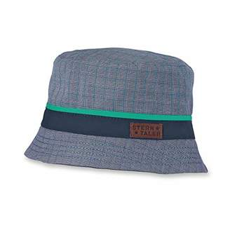 80148d66 Sterntaler Boys Checkered Fishing Hat, Age: 18-24 Months, Size:Navy