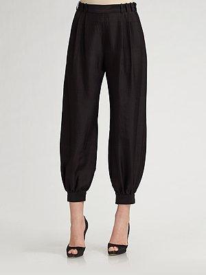 Proenza Schouler Shantung Pajama Pants