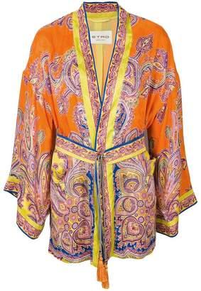 Etro paisley print kimono jacket