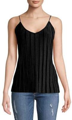 Vero Moda Tonal Stripe V-Neck Sleeveless Top