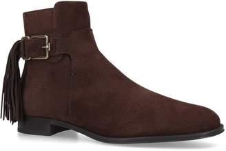 J.P Tods Tassel Embellished Ankle Boots
