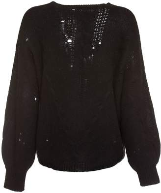 360 Sweater 360cashmere Lea Sweater In Black