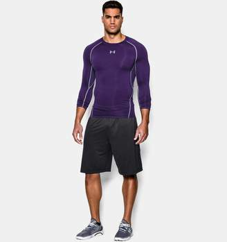 Under Armour Men's UA HeatGear Armour Long Sleeve Compression Shirt
