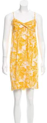 Diane von Furstenberg Printed Mini Dress