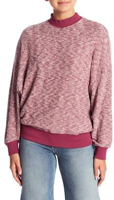 MinkPink Brushed Knit Pullover Sweater