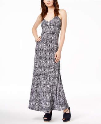Michael Kors Animal-Print Maxi Dress, Regular & Petite