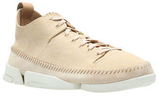 Clarks Trigenic Flex Leather Sneakers