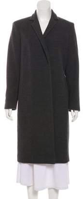 Calvin Klein Collection Wool Long Coat