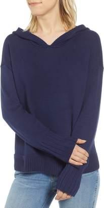 Caslon Off-Duty Hooded Sweater