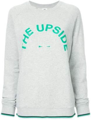 The Upside relaxed sweatshirt