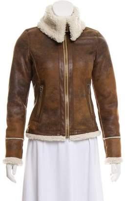 MICHAEL Michael Kors Faux Leather Jacket
