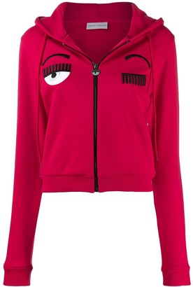 Chiara Ferragni Flirting zipped hoodie