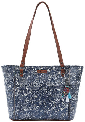 The Sak 106078 Artist Circle Zip Top Tote Bag