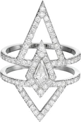 Chérut V.O.F Kite Diamond Ring