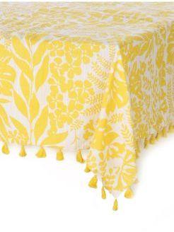 Rice Blossom Tablecloth