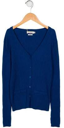 Nice Things Girls' Rib Knit Cardigan w/ Tags