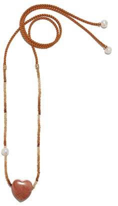 Lizzie Fortunato Sunset Gemini Necklace