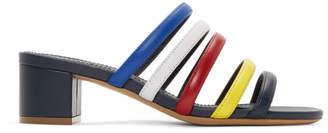 Mansur Gavriel Multicolor Multi Strap Sandals
