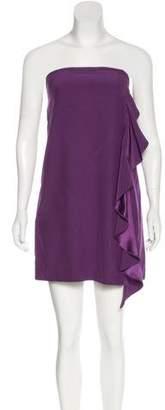 Elizabeth and James Silk Ruffle-Trimmed Dress