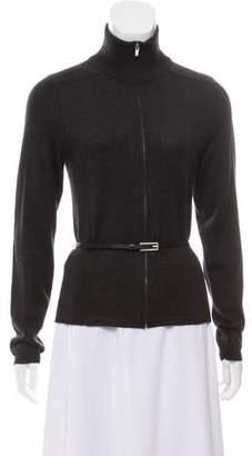 Calvin Klein Mock Neck Wool Sweater