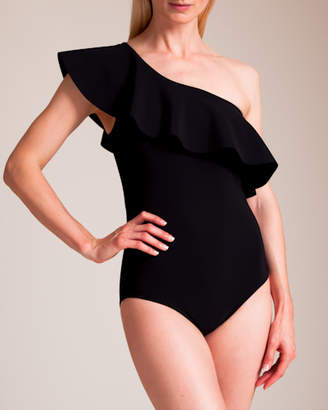 Karla Colletto Zaha One Shoulder Swimsuit