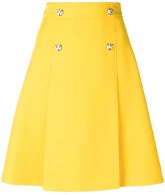 Gucci A-line skirt