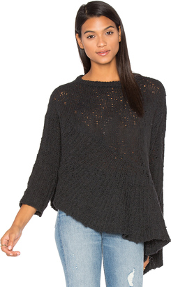 Inhabit Drape Asymmetrical Sweater $385 thestylecure.com