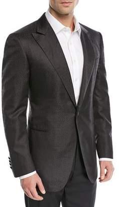 Stefano Ricci Tonal Jacquard Silk Dinner Jacket