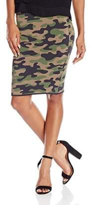 BCBGMAXAZRIA Women's Aavan Camo Skirt