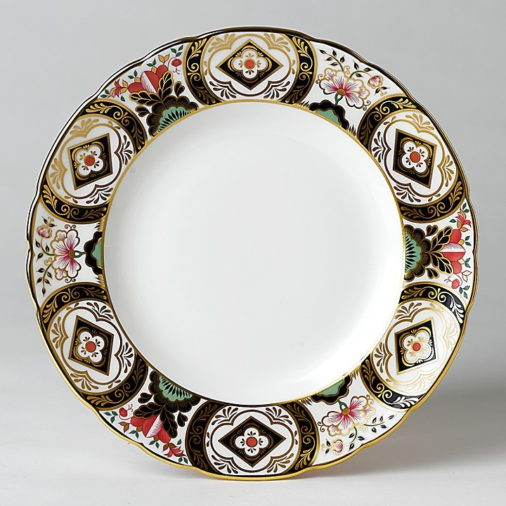 """Royal Crown Derby """"Chelsea Garden"""" Accent Plate, 8"""""""