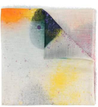Faliero Sarti Spray Heart printed scarf