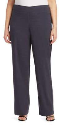 Nic+Zoe Plus Stretch-Linen Pants