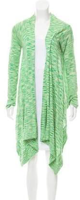BCBGMAXAZRIA Silk Draped Cardigan