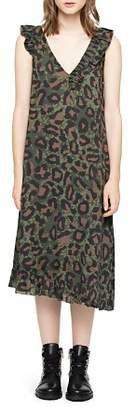 Zadig & Voltaire Rebelle Leo Leopard-Print Dress