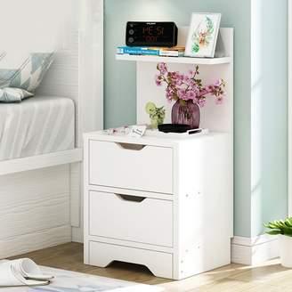 EWYGRVQAS Modern simple home bedside table Nightstands [lockers] Bedroom creative storage cabinet Drawer nightstand